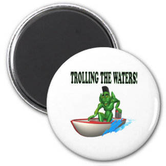 Trolling The Waters Magnets
