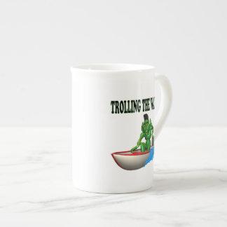 Trolling The Waters Tea Cup