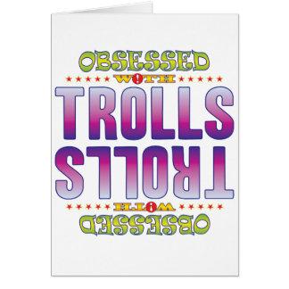Trolls 2 Obsessed Greeting Card