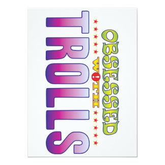 Trolls 2 Obsessed 5.5x7.5 Paper Invitation Card