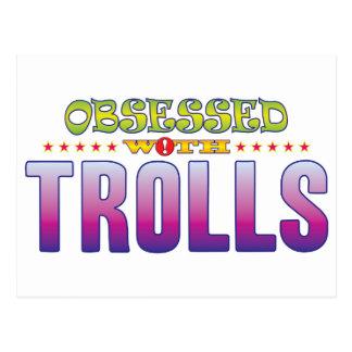 Trolls 2 Obsessed Postcard