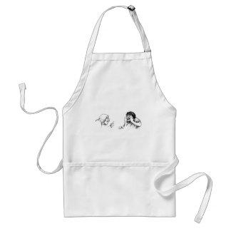 trolls adult apron