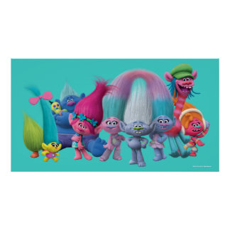 Trolls | Best Troll Friends Poster