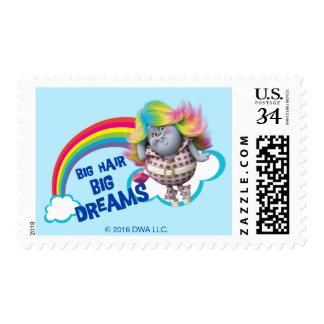 Trolls   Big Hair, Big Dreams Postage Stamp