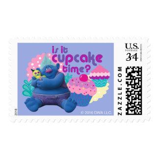 Trolls   Biggie - Is it Cupcake Time? Postage Stamp