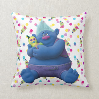 Trolls | Biggie & Mr. Dinkles Throw Pillow