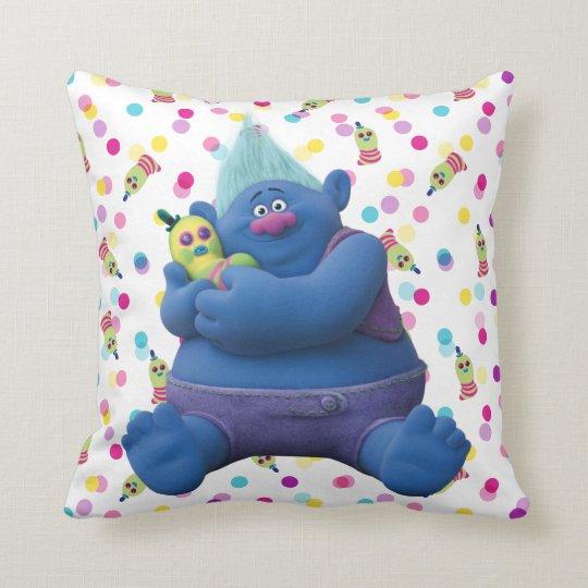 Trolls Biggie Mr Dinkles Throw Pillow Zazzle Com