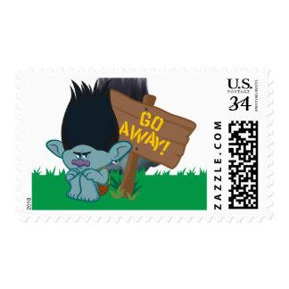 Trolls   Branch - Go Away Stamp