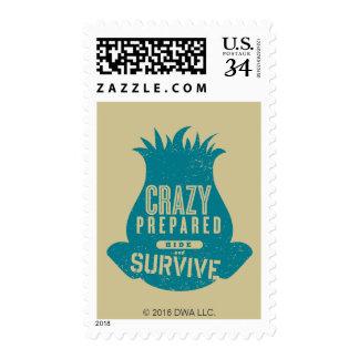 Trolls   Branch - Hide and Survive Stamp