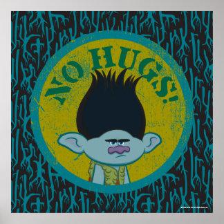 Trolls | Branch - No Hugs! 2 Poster