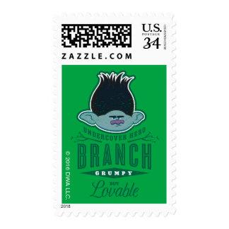 Trolls   Branch - Undercover Hero Stamp
