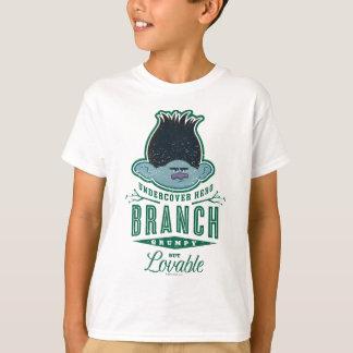 Trolls   Branch - Undercover Hero T-Shirt