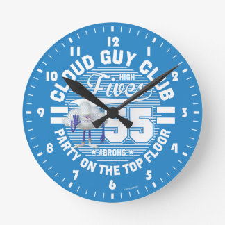 Trolls | Cloud Guy Salute Round Clock