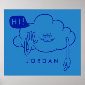 Trolls | Cloud Guy Smiling Poster