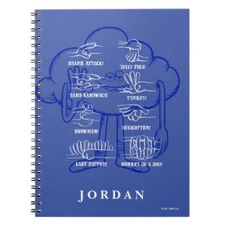 Trolls | Cloud Guy Waving Spiral Notebook