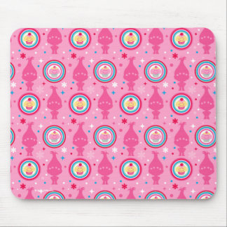 Trolls | Cupcakes & Rainbows Pattern Mouse Pad