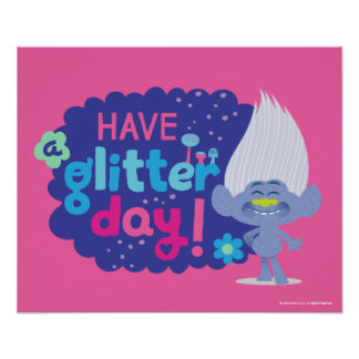 Trolls | Guy Diamond - Have a Glitter Day! 2 Poster