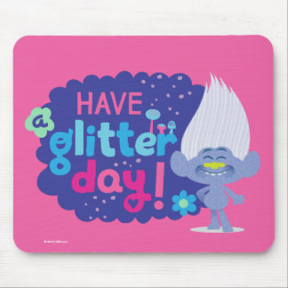 Trolls | Guy Diamond - Have a Glitter Day! Mouse Pad