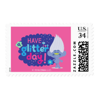 Trolls   Guy Diamond - Have a Glitter Day! Postage