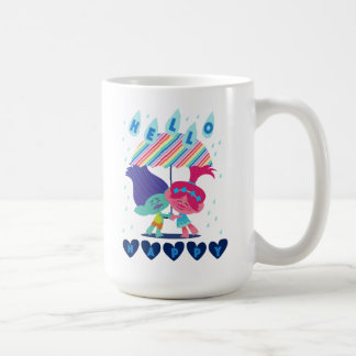 Trolls | Happy Rain Drops Coffee Mug