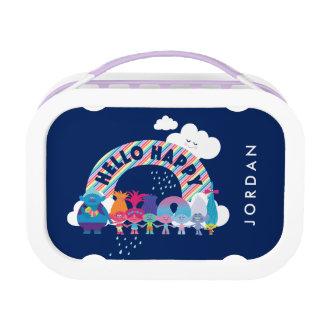 Trolls   Happy Rainbow Lunch Box