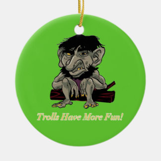 Trolls Have More Fun Christmas Ornament