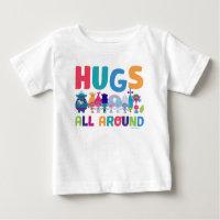 Trolls   Hugs All Around Baby T-Shirt