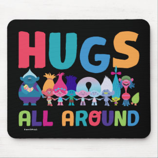 Trolls | Hugs All Around Mouse Pad