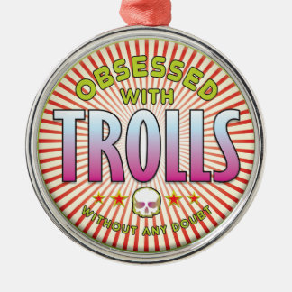 Trolls Obsessed R Christmas Ornaments