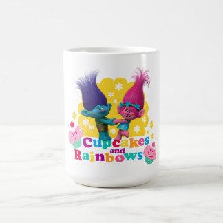Trolls | Poppy & Branch - Cupcakes and Rainbows Coffee Mug