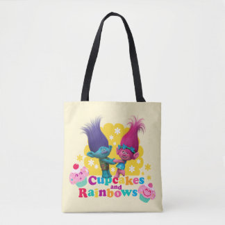 Trolls | Poppy & Branch - Cupcakes and Rainbows Tote Bag