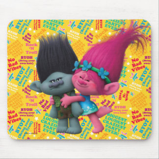 Trolls | Poppy & Branch - No Bad Vibes Mouse Pad