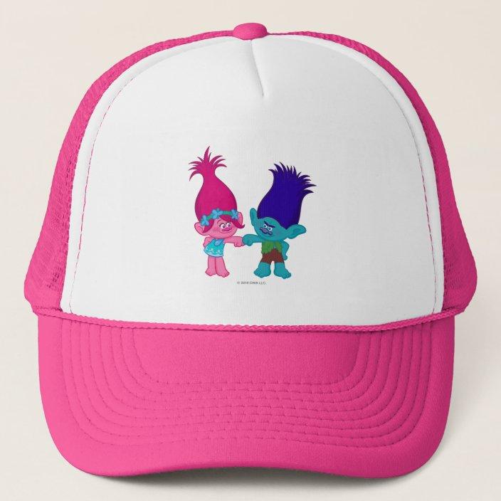 Poppy Baseball Cap Trolls|Poppy Cap,Official Licensed