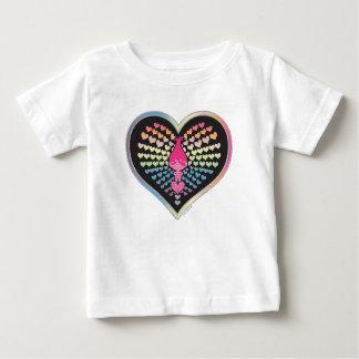 Trolls   Poppy Hearts Baby T-Shirt