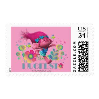 Trolls   Poppy - Hugfest Postage Stamp