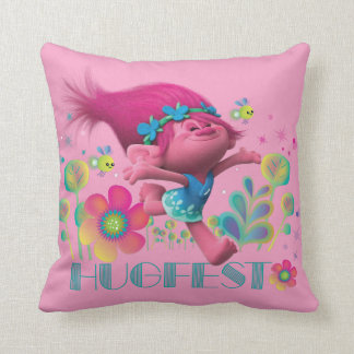 Trolls | Poppy - Hugfest Throw Pillow