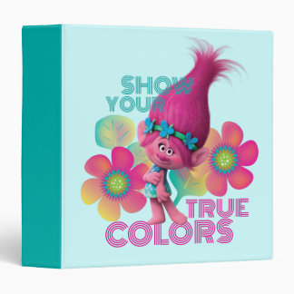 Trolls | Poppy - Show Your True Colors 3 Ring Binder