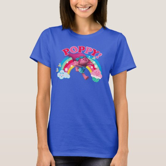 Ladies Size Ford Mustang Design T Shirt Tee Shirt Pony Tri: Poppy - Yippee T-Shirt