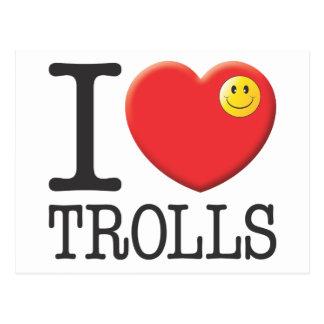 Trolls Postcard