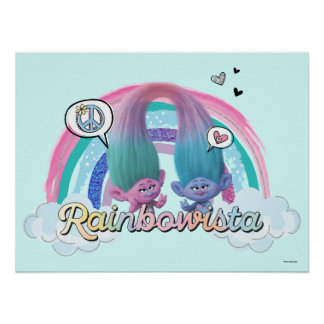 Trolls | Satin and Chenille Sassy Poster