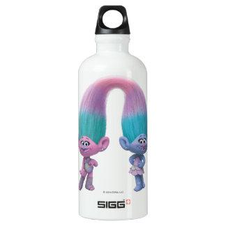 Trolls | Satin & Chenille Aluminum Water Bottle