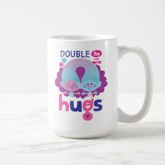 Trolls | Satin & Chenille - Double the Hugs Coffee Mug