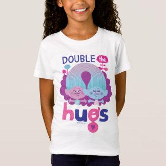 Trolls   Satin & Chenille - Double the Hugs T-Shirt