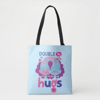 Trolls | Satin & Chenille - Double the Hugs Tote Bag