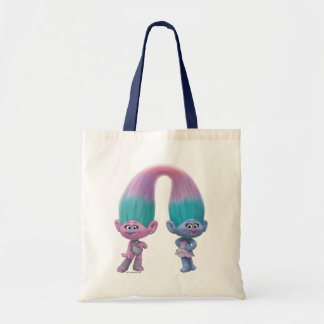 Trolls   Satin & Chenille Tote Bag
