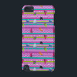 "Trolls | Show Your True Colors Pattern iPod Touch (5th Generation) Case<br><div class=""desc"">Welcome to Troll Town where love is always in the hair,  cupcakes with a side of rainbows is an attitude (and snack),  and pants are optional - especially if you&#39;re wearing glitter.</div>"