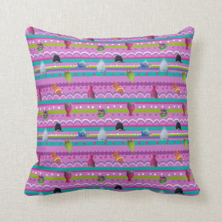 Trolls | Show Your True Colors Pattern Throw Pillow