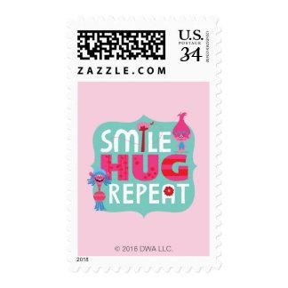 Trolls   Smile, Hug, Repeat Stamp