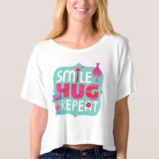 Trolls | Smile, Hug, Repeat T-shirt