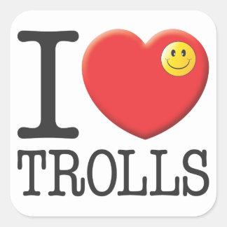 Trolls Square Sticker